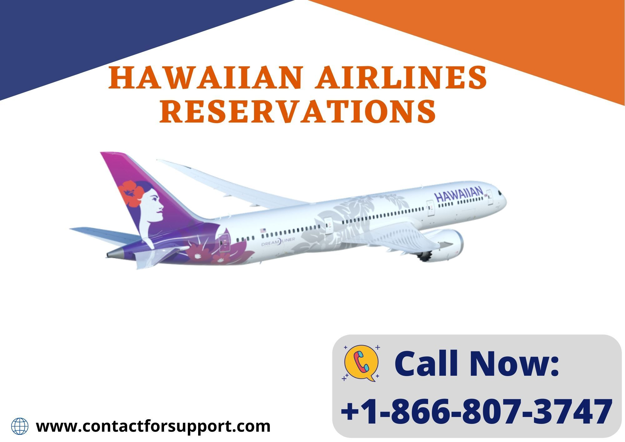 Hawaiian Airlines Reservations +1-866-807-3747 Booking ...