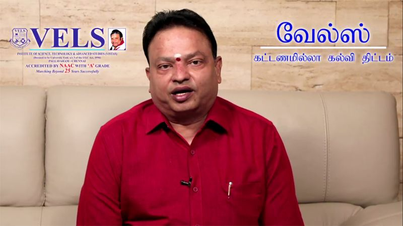 "Vels University Launches ""Vels Free Education Scheme"" for Children of Corona Warriors"