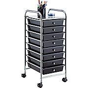 Whalen Rolling Storage Organizer, 8 Drawer Cart - $24.99! - http://www.pinchingyourpennies.com/whalen-rolling-storage-organizer-8-drawer-cart-24-99/ #8drawercart, #Pinchingyourpennies, #Rollingstorage, #Staples, #Whalen