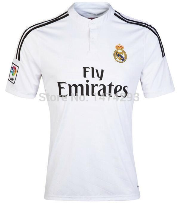 huge discount c7ff8 98056 Need Thai Version Of Real Madrid 14 15 Season Home Soccer ...