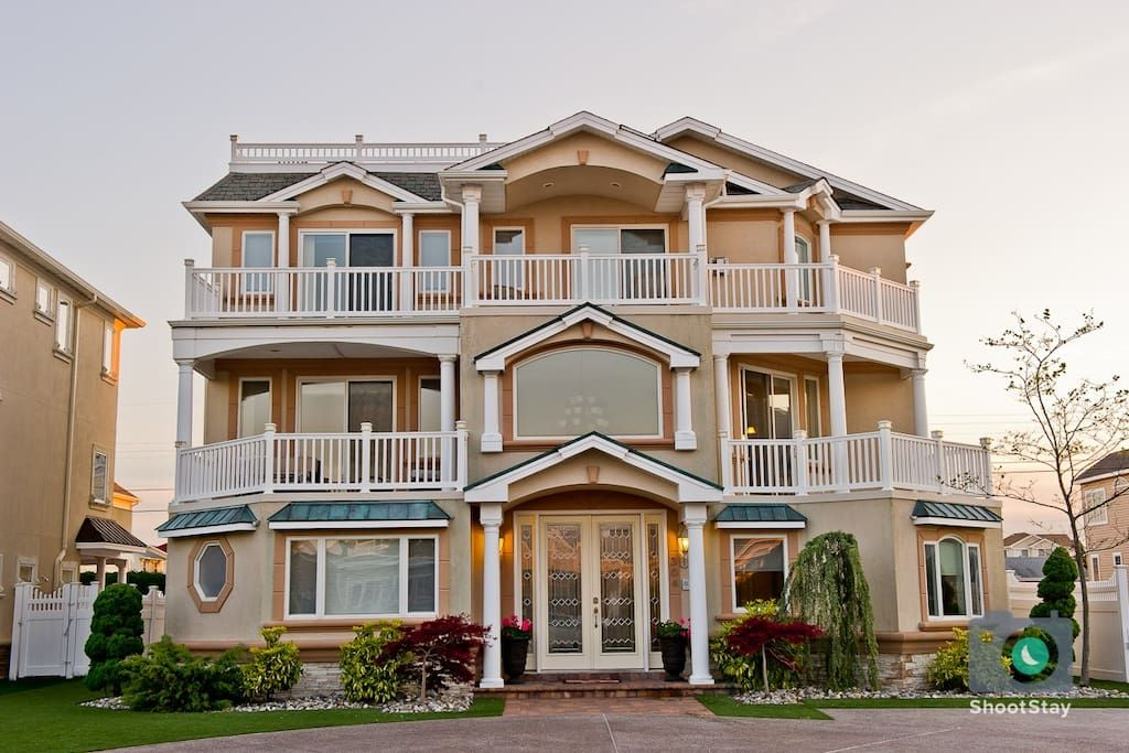 Luxury Beach Mansion 8 Br 8 Baths Sleeps 22 Vacation Homes For