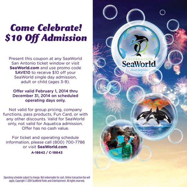 Coupons Save On Attractions In San Antonio Tx Sea World Seaworld San Antonio San Antonio Attractions