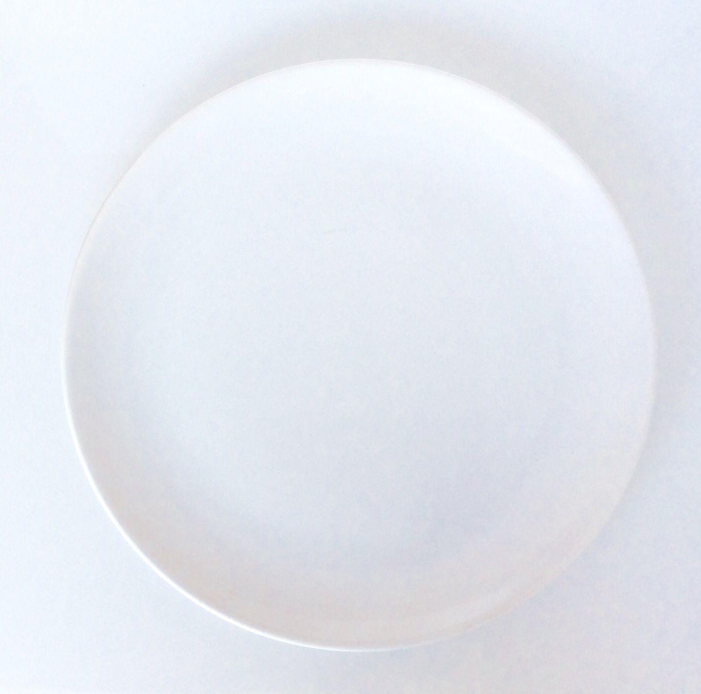 Piatto Ceramica Bianco.Piatto Pizza In Ceramica Bianca Disponibili 10 Pezzi