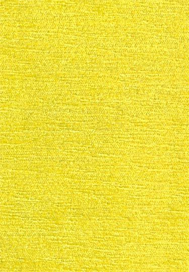Genova Chenille Fabric Yellow Chenille Upholstery Fabric