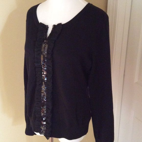 Great sweater with Details down center Good condition just a cutest evening sweater for any event Chadwicks Sweaters