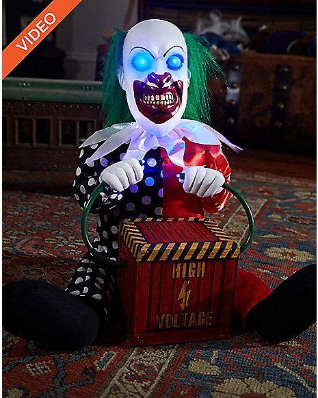 1 Ft Lil\u0027 Zappy the Clown Animatronics \u2013 Decorations