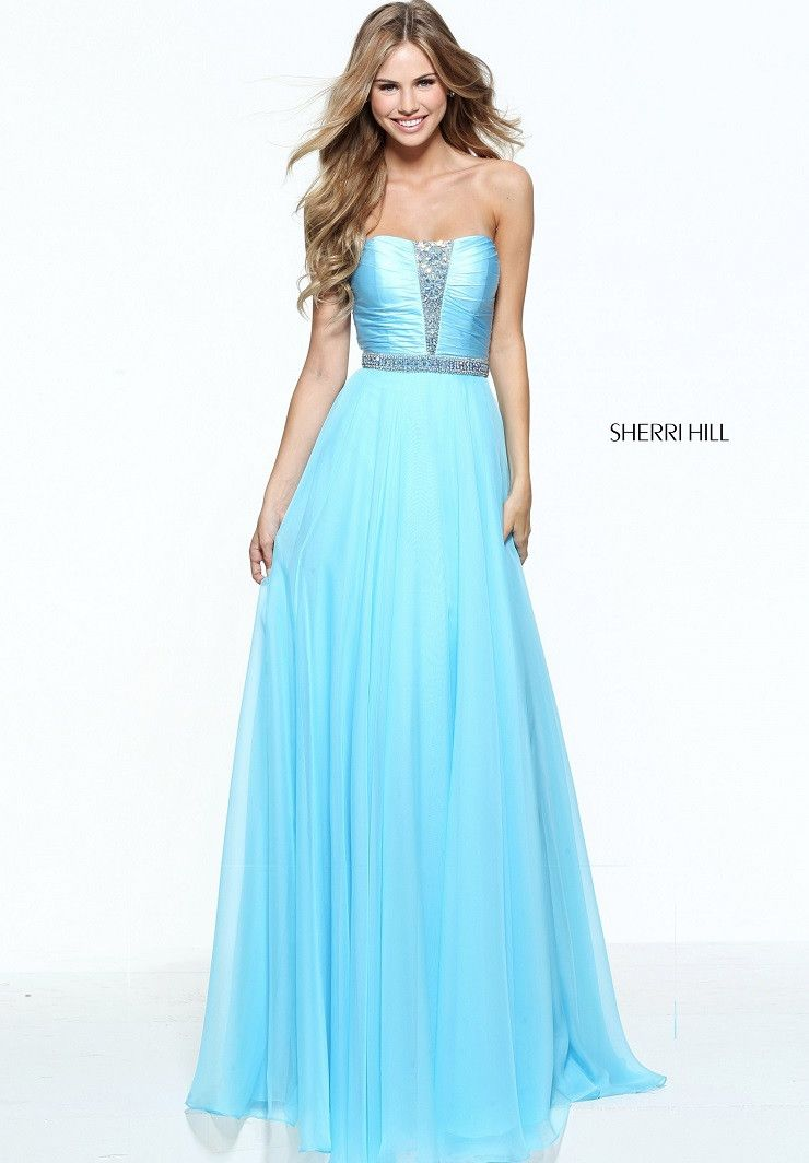 Sherri Hill 51002 | Glamour, Gowns and Strapless gown