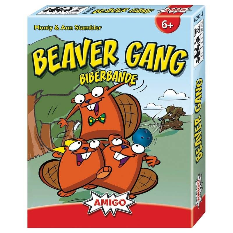 Beaver Gang Familienspiele Von Amigo Spielwarenzauber Ch Familienspiele Karte Spiel Und Spiele