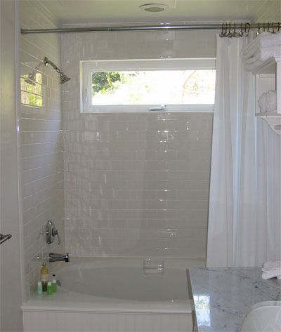 Superieur Window In Shower | Shower Over Tub