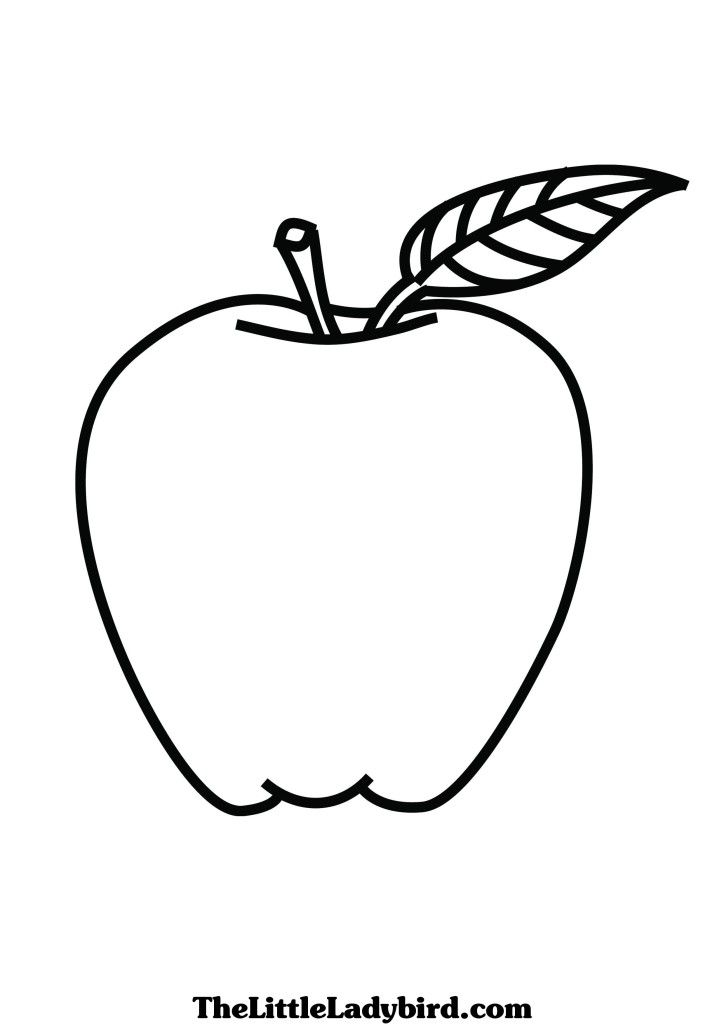 An Apple A Day Keeps Doctor Away Birthday Coloring Pages Apple Coloring Pages Apple Coloring