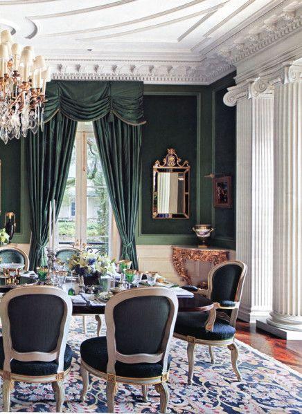 Idées déco salle à manger classique le blog de haute decoration over blog com