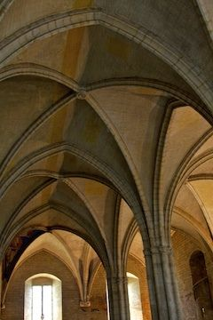 Architectural sights in Avignon, France by VictoriaJZ, via Flickr