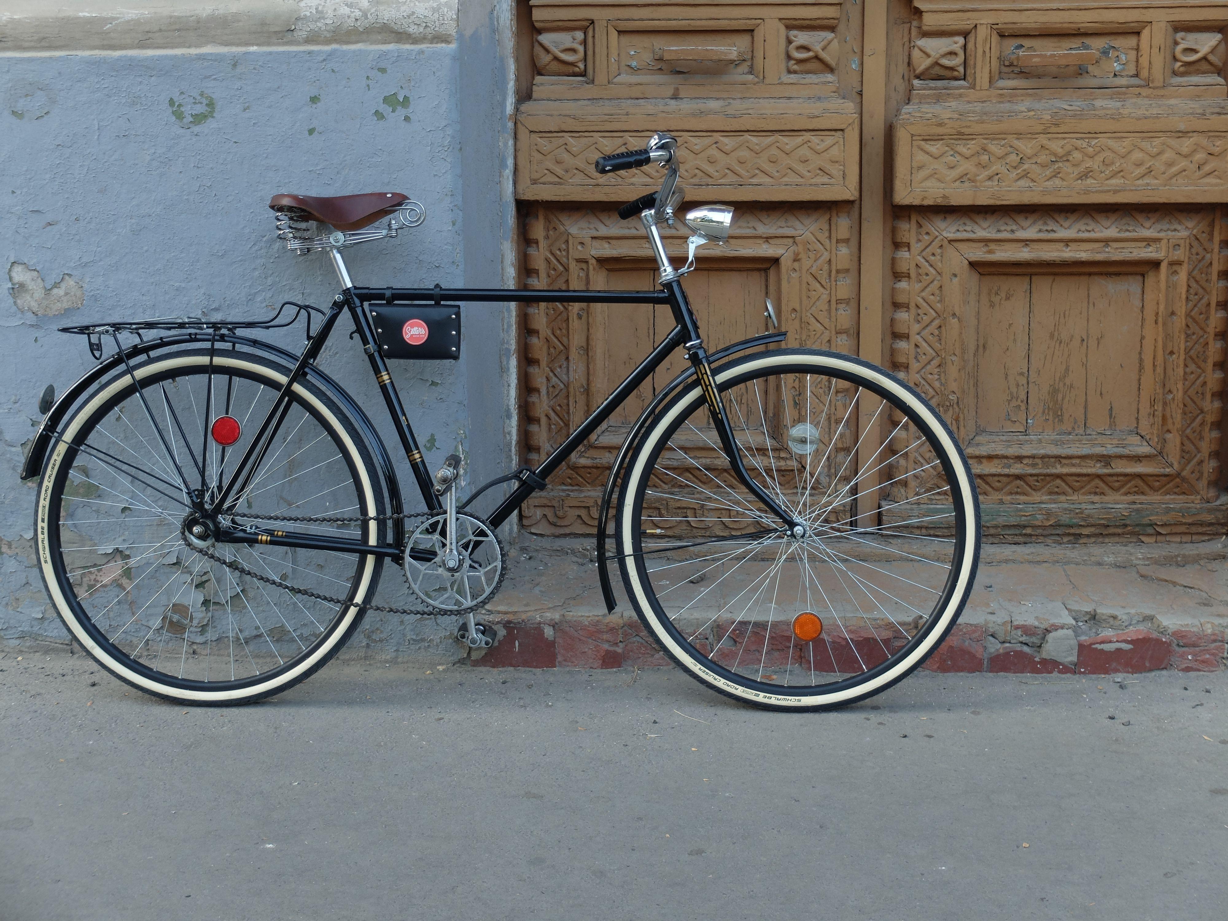 Old Bicycle Ukraina Bicycle Old Bicycle Retro Bicycle