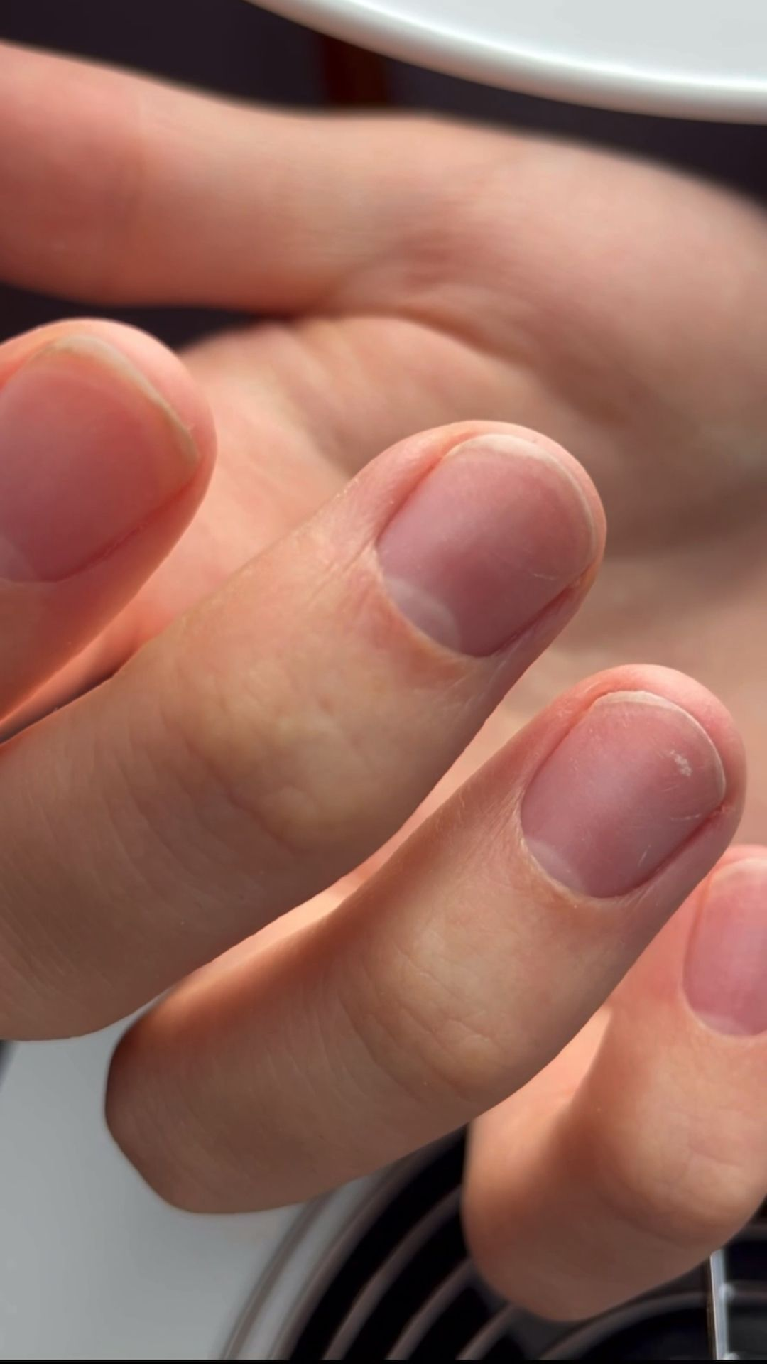 Male Nails featuring Russian Manicure