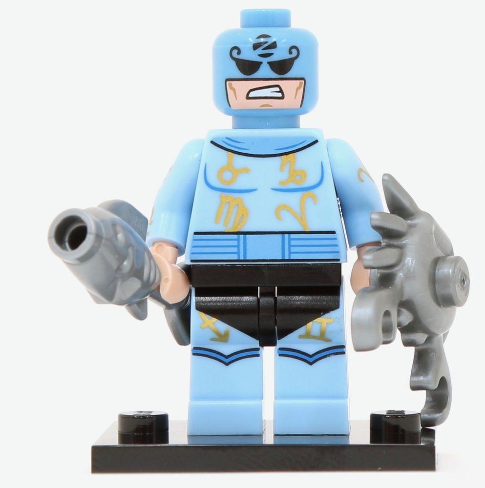 Lego Batman Movie Series 1 Minifigure Zodiac Master Mini Figure 71017 Minifigures Box Of 60 New