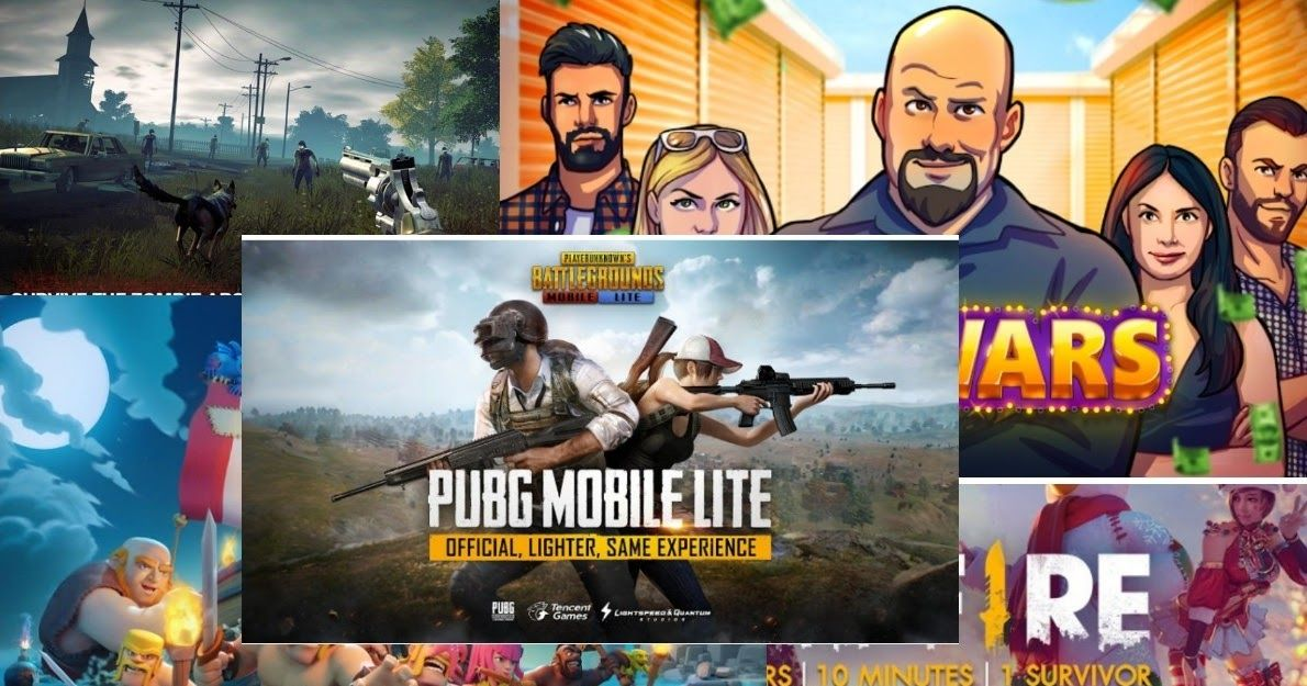 Top 10 free and trending android games 2019,best android