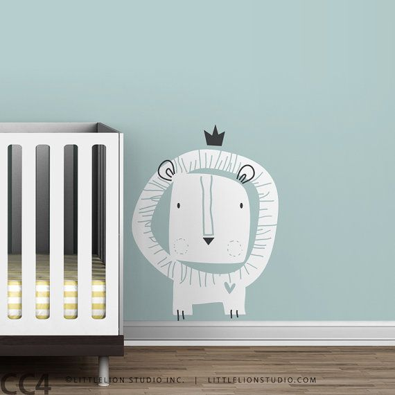 Baby Zoo Lion King Wall Decal From LeoLittleLion on Etsy & Baby Zoo Lion King Wall Decal From LeoLittleLion on Etsy | DECOR ...
