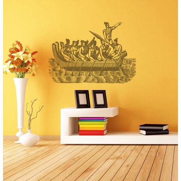 Ancient Rome ship people myth legend Wall Art Sticker Decal ...