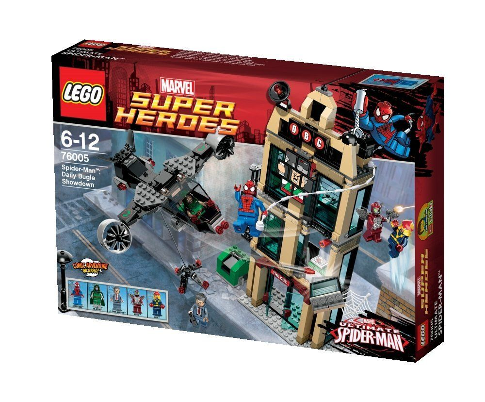 Lego Super Heroes 76005 Spider-Man Daily Bugle Showdown Brand New /& Sealed