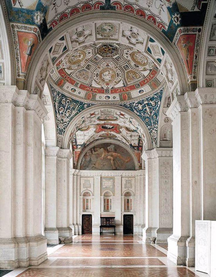 Renaissance Art Raphael C 1518 Loggia Di Raffaello Villa Madama