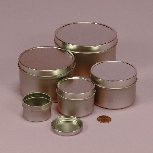 10 Oz Deep Round Steel Tin Can 24 Package You Can Find More Details By Visiting The Image Link Metal Containers Tin Can Tin Candles