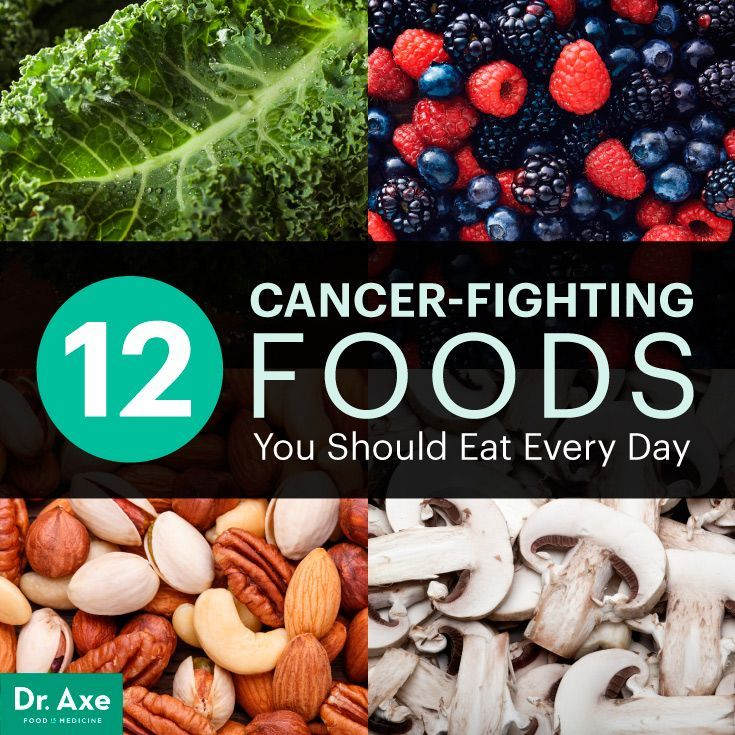Top 12 Cancer-Fighting Foods | Natural Cancer Prevention +