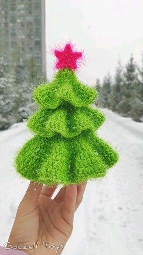 Photo of Crochet Christmas Tree Pattern, Amigurumi Christmas pattern, Xmas Tree Pattern, Crochet Fir Tree