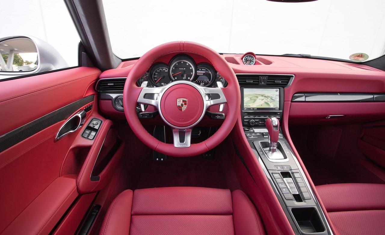 interior porsche 911 turbo - 2014 Porsche Cayenne Turbo S Interior