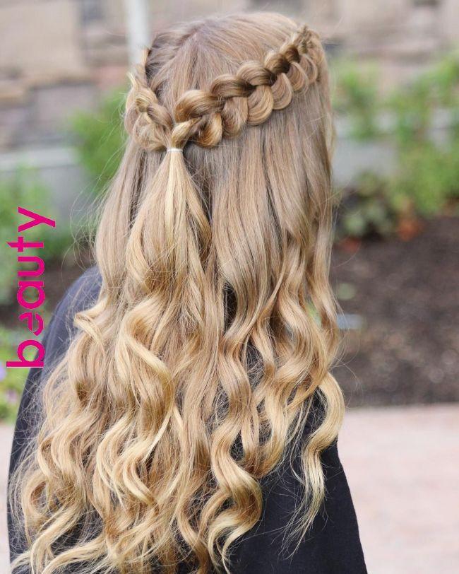 Best Hairstyle For Fine Hair Over 50 Penteados Penteados Com Tranca Cabelo Penteado