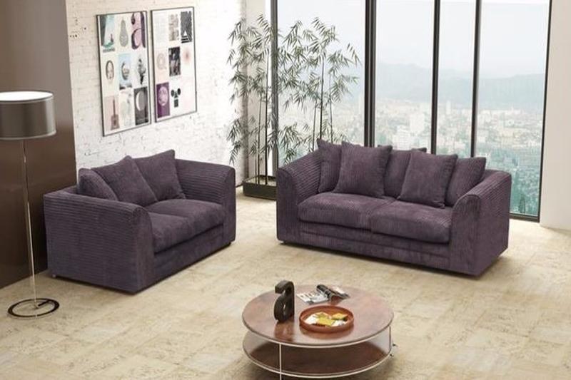 Logan 3 2 Seater Sofa Set Fabric Jumbo Cord Corner Sofa And Swivel Chair 2 Seater Corner Sofa Sofa Set