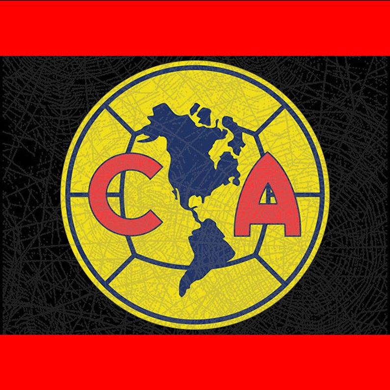 Club America Logo Sports Soccer Team Cut File // D