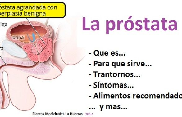 agua potable para problemas de próstata
