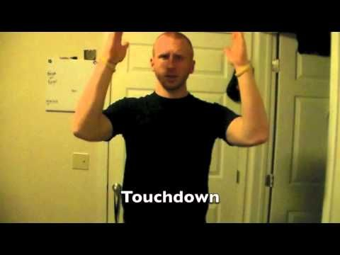 Football Signs In Asl Sign Language Sign Language For Kids Asl Learning