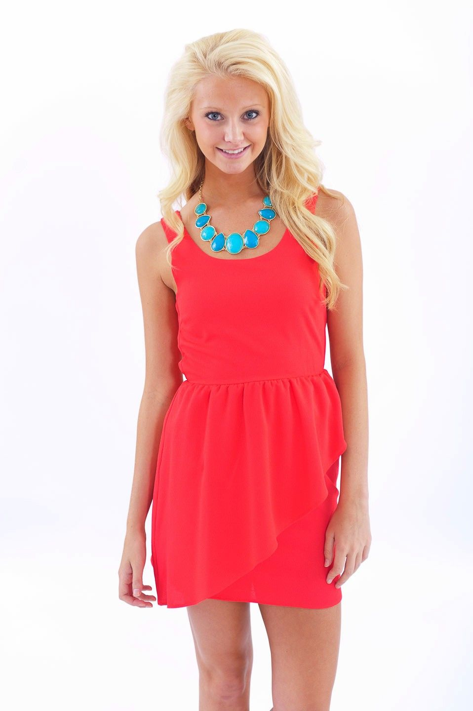 Everlymaterial twirl dressred dress red dresses my style