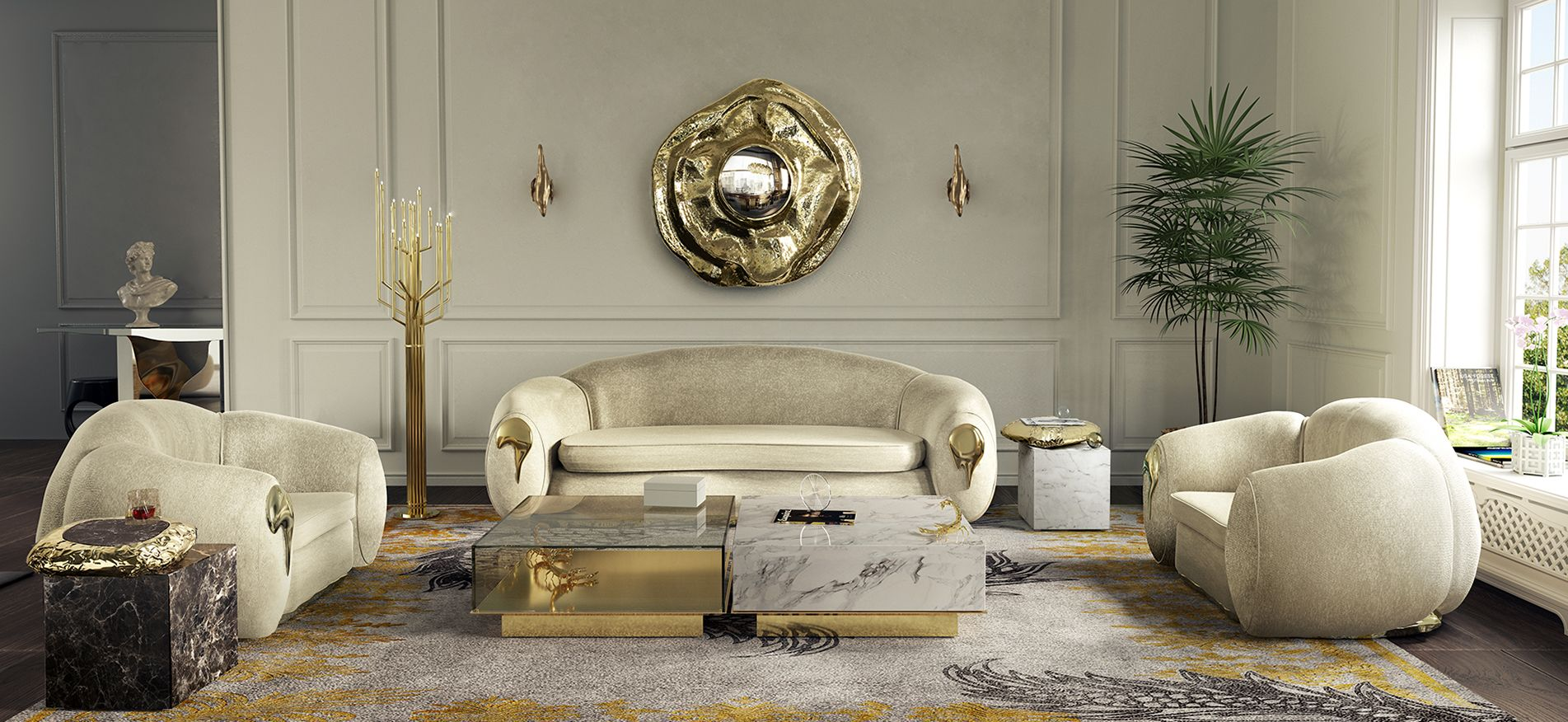 Trendy Center Tables For 2019 Luxury Furniture Luxury Home
