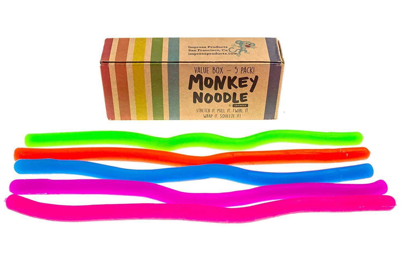 Monkey Noodles Sensory Toys Kids Learning Toys Toddler Boy Toys