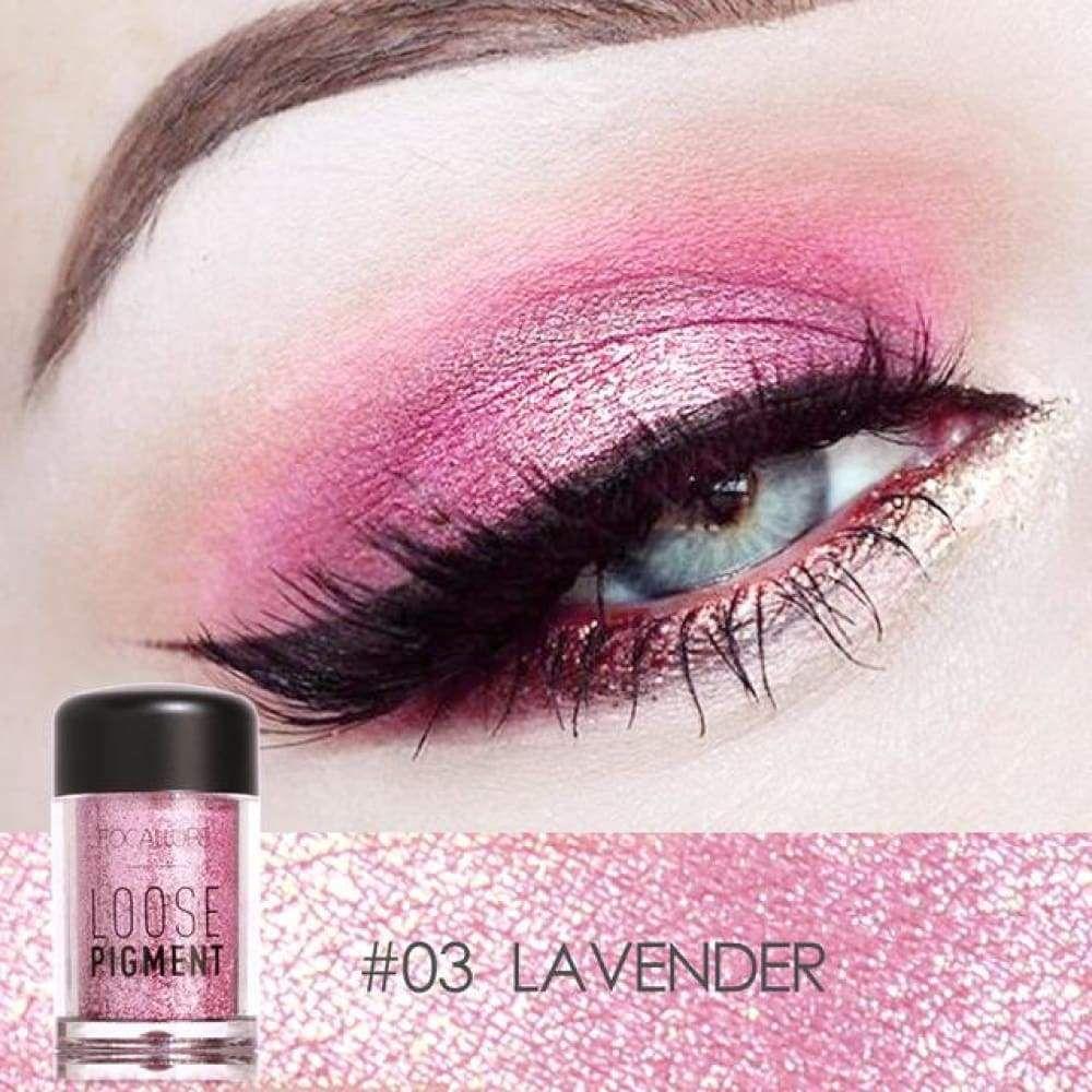 FOCALLURE High Pigment Loose Glitter Eyeshadow Glitter