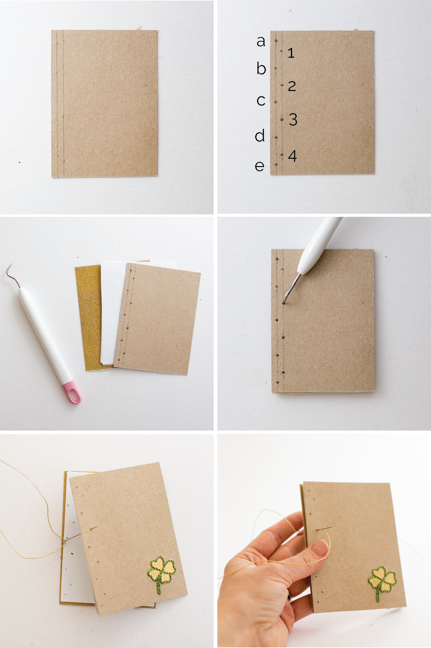 Book Binding Tutorial with Embroidered Cover Book