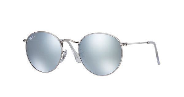 Ray-Ban Round Flash Lenses  Silver , RB3447 | Ray-Ban® Canada