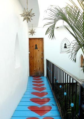 The Moroccan Themed Pe Hotel Hafa Is A Boutique In Downtown Sayulita