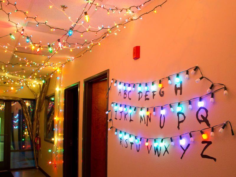 Stranger Things Lights Decorations Stranger Things Wall Stranger Things Halloween Stranger Things Lights