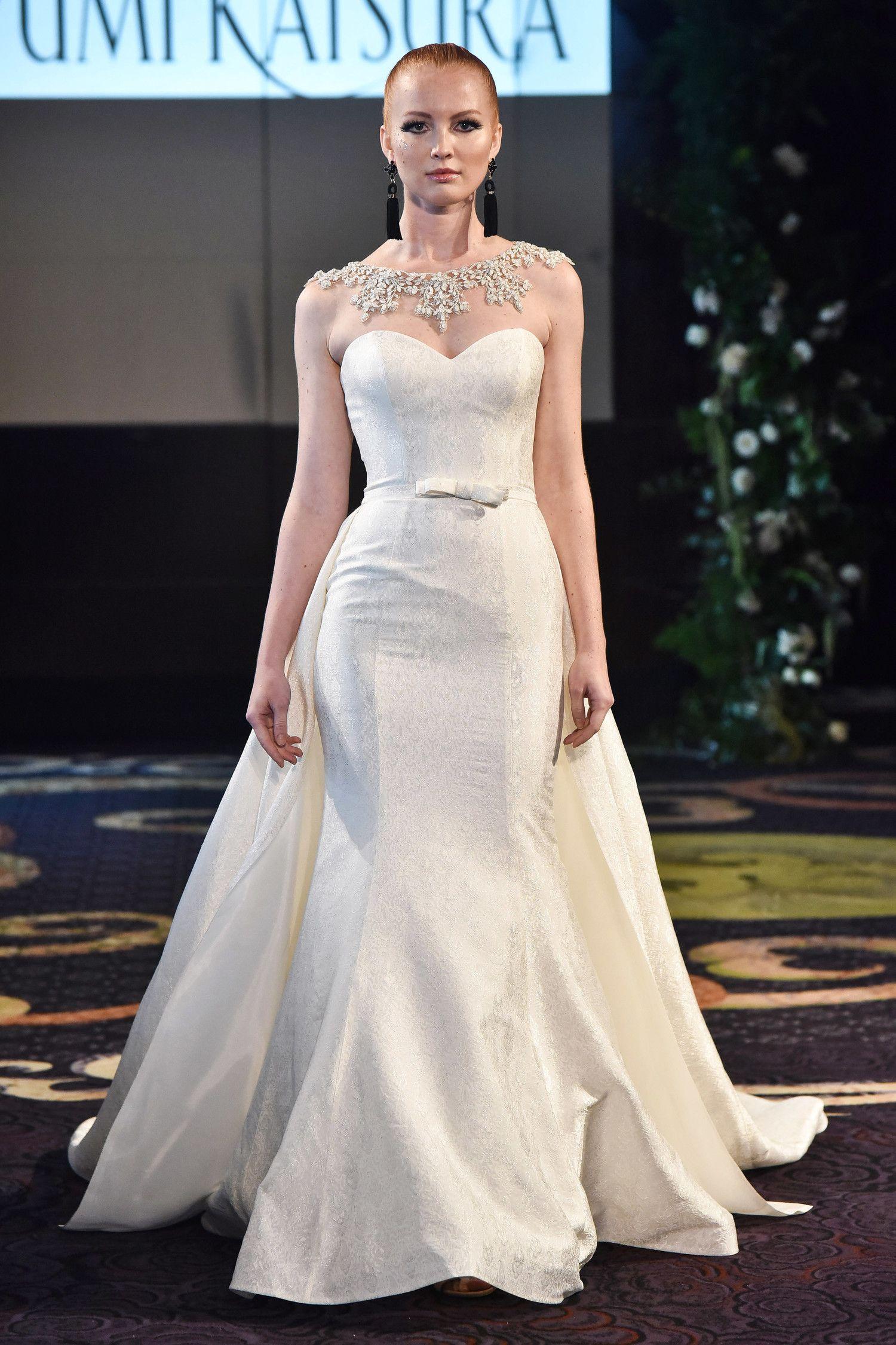 Wedding dress by Yumi Katsura | wearable luxe | Pinterest | Trumpets ...