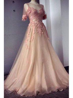 lange abendkleider ballkleider perlen rosa  abendkleid ballkleid langes abendkleid