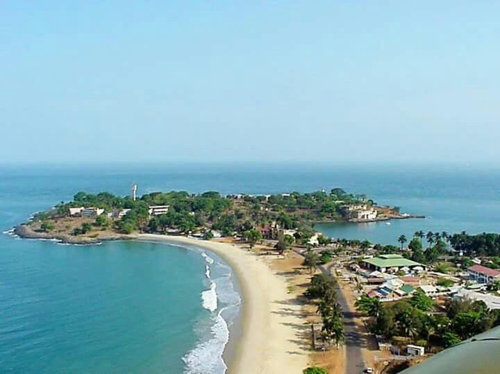Lumley Beach Freetown Sierra Leone