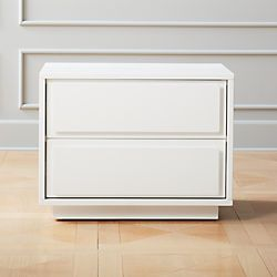 Best Modern Nightstands And Bedside Tables Cb2 2 Drawer 640 x 480