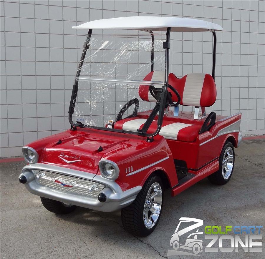 1957 Chevy Club Car Precedent Golf Cart Austin Texas