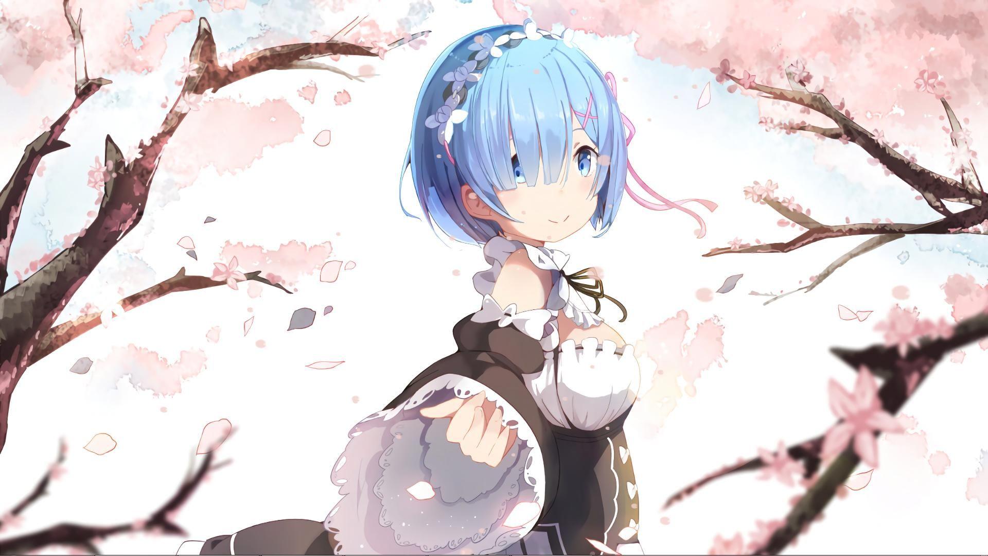 Rem Rezero Wallpaper For Wallpaper Engine