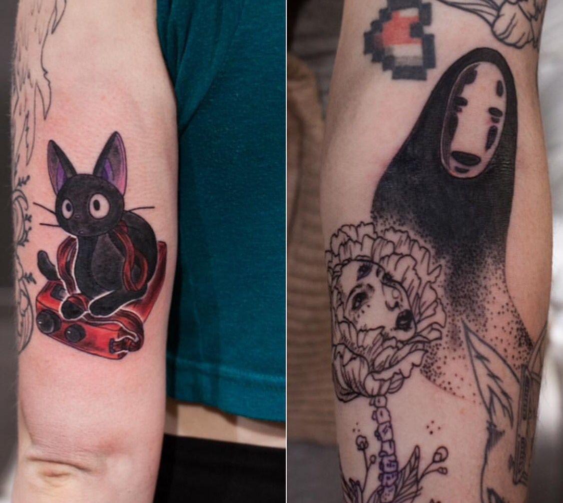 I want a studio Ghibli tattoo one day!!