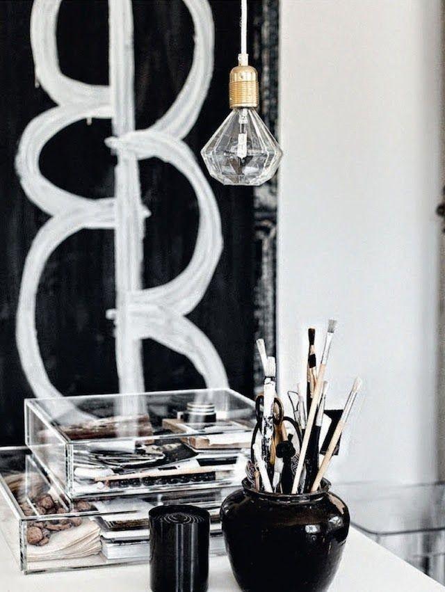 pin von claudia rodler auf the art of livingii pinterest skandinavisches design wei es b ro. Black Bedroom Furniture Sets. Home Design Ideas
