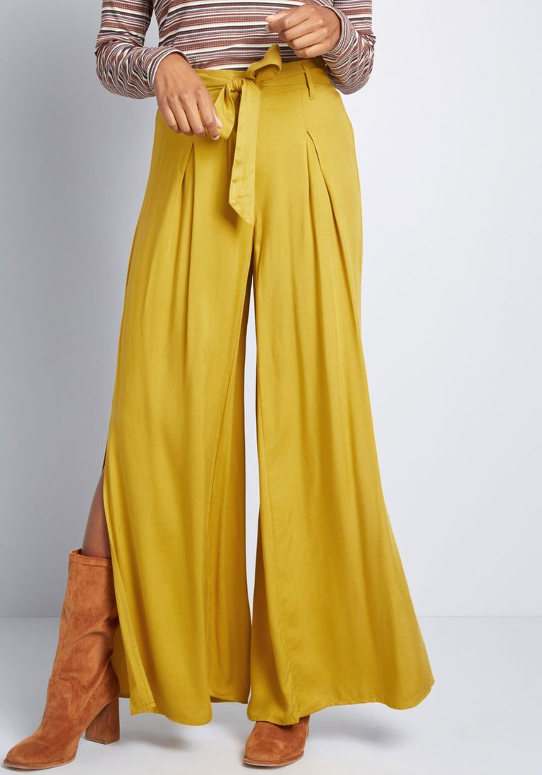 9f4783812de Meant for Vents Wide-Leg Pants in M - Wide Pant Long by Jack by BB Dakota  from ModCloth